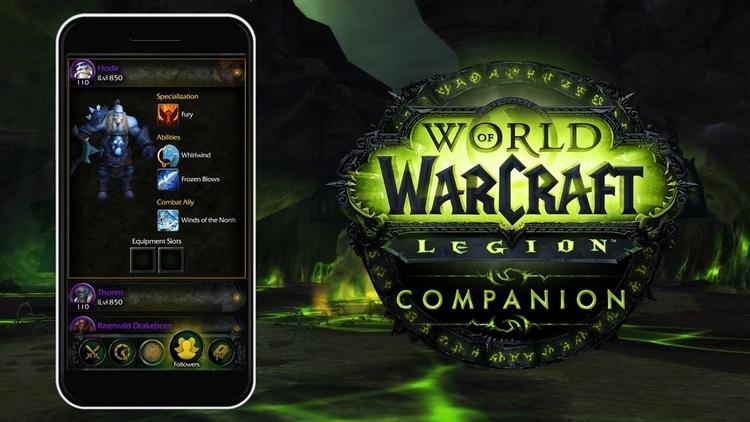 World of Warcraft: Legion теперь в твоем мобильном