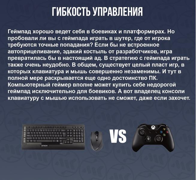 5 причин почему ПК лучше xbox и playstation