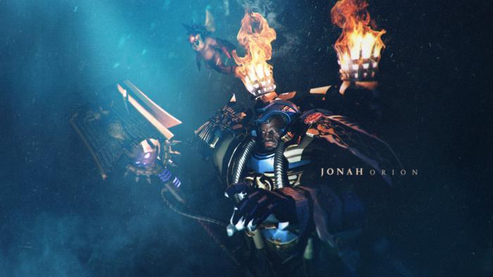 Элитный герой Иона Орион для Warhammer 40.000: Dawn of War 3