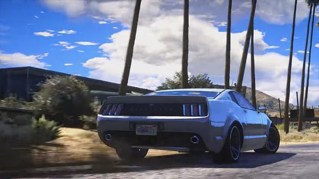 GTA V Redux: полная переработка игры