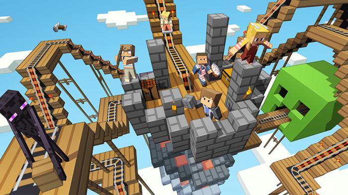 Minecraft: игроки PS4 и XBOX One смогут играть в одной игре