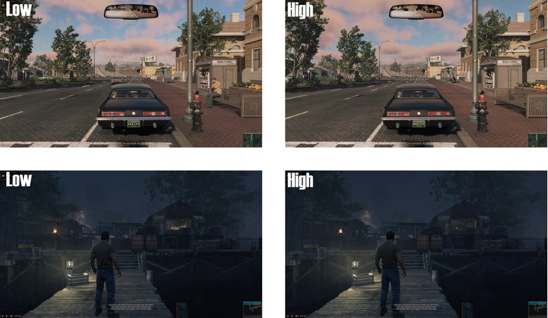 Сравнение графики в Мафии 3 на ПК и приставках