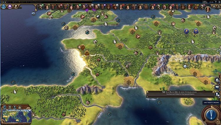 Фанаты цивилизации 6 создали карту, которая жрет 6 гигов видеопамяти