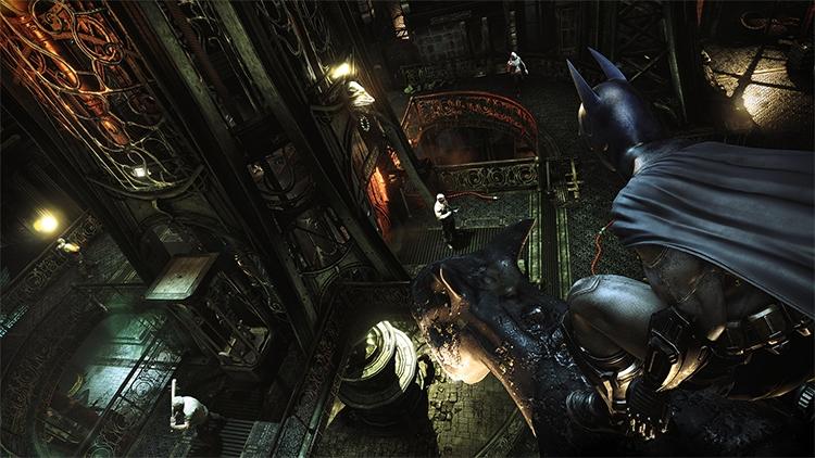 Сравнение графики в Batman: Arkham City