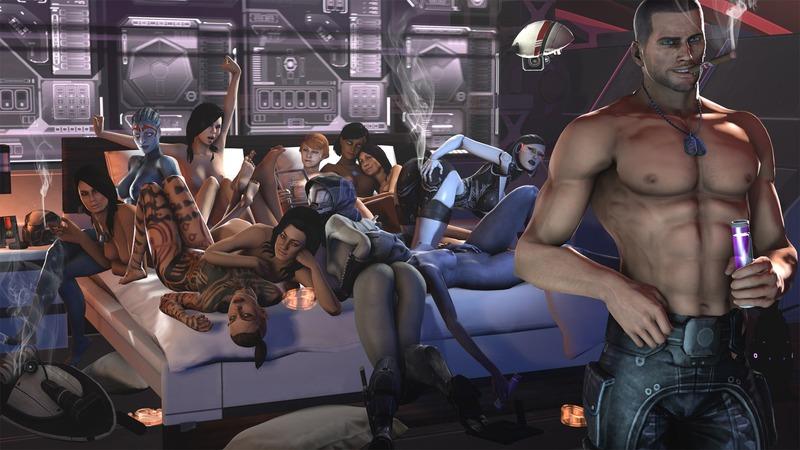 Mass Effect: Andromeda однополые отношения и секс с инопланетянами