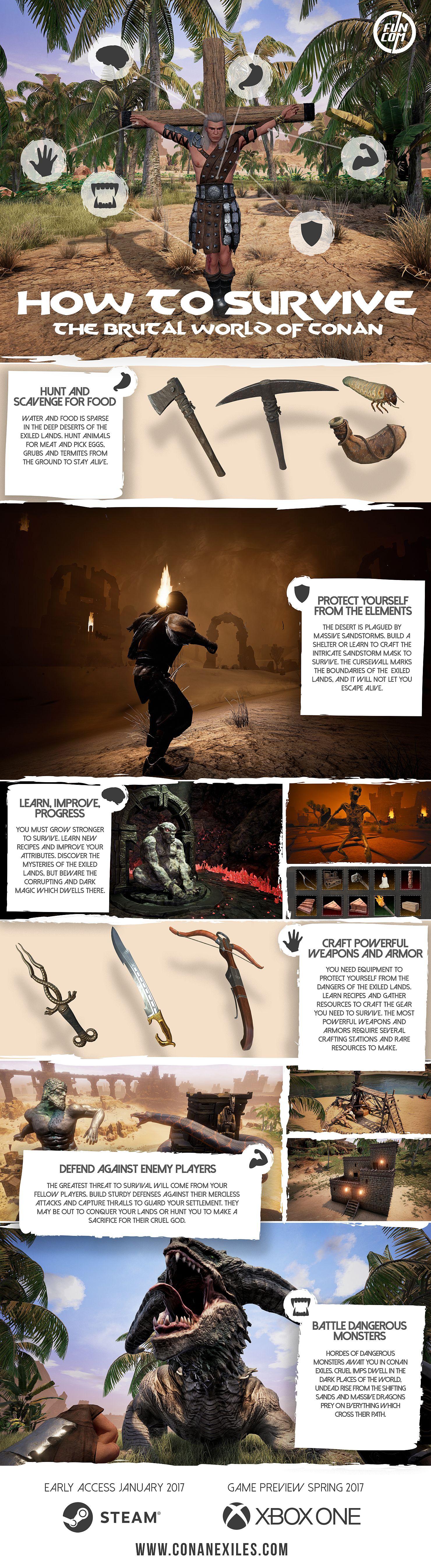 Conan Exiles: варвары в открытом сетевом мире