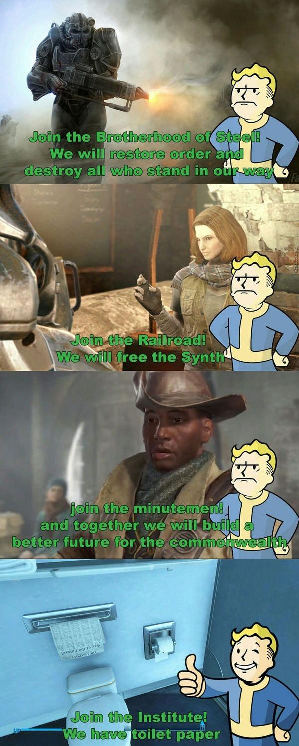 Fallout 4: нелегкий выбор