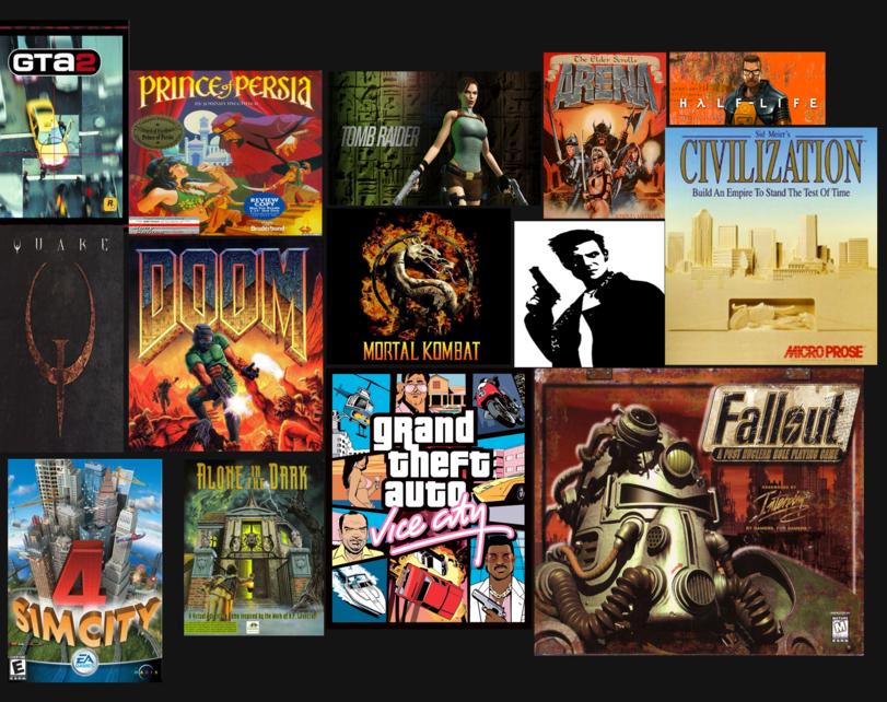 Все новое — это хорошо забытое старое или старые игры на новый лад.