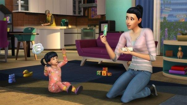 Sims 4: теперь младенцы