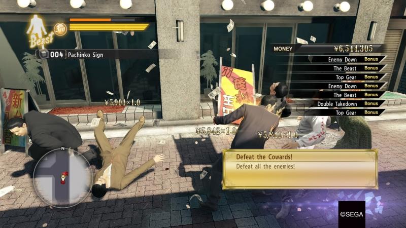 Yakuza 0: богатые тоже плачут