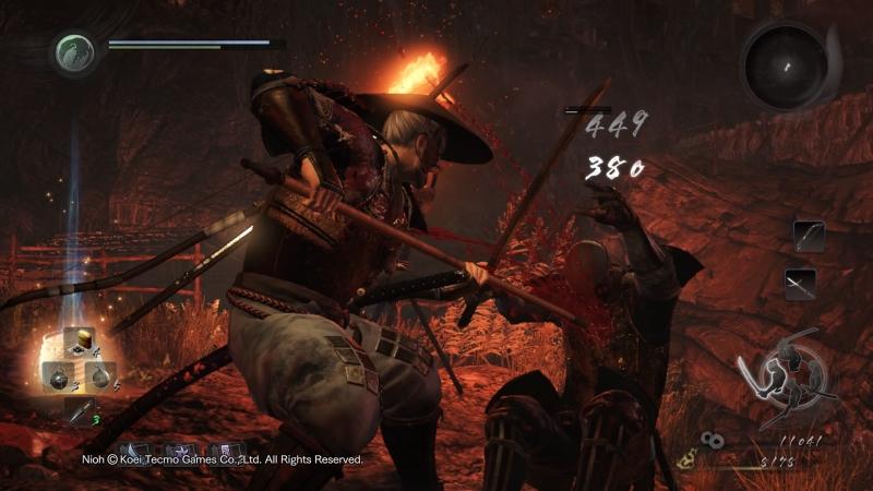 Nioh: все лучшее от Dark Souls, Ninja Gaiden и Onimusha