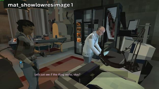 Half-Life 2 превратили в майнкрафт
