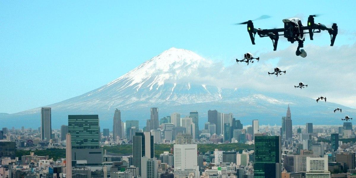 В Японии предложили ввести единые стандарты на полеты дронов