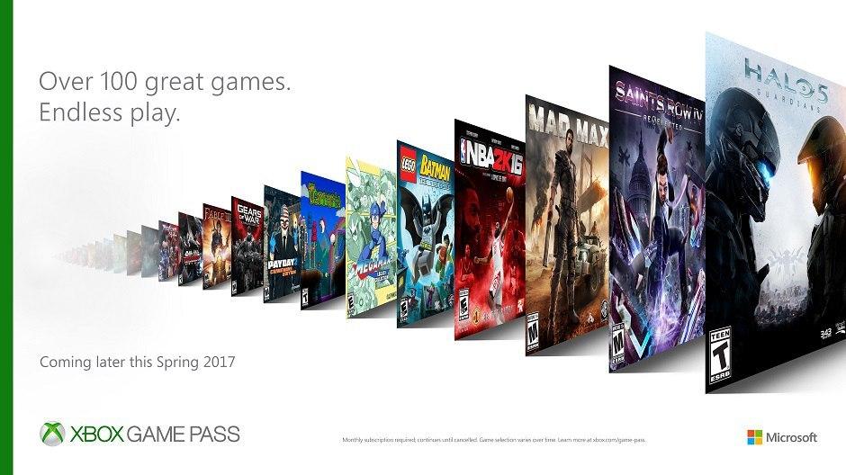 Xbox Game Pass: игры по подписке