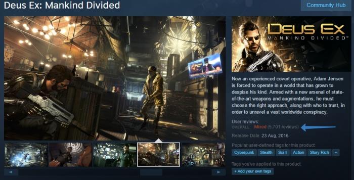 Valve будет наказывать за накрутку отзывов и рейтингов в Steam