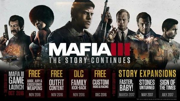Новые DLC к Mafia 3