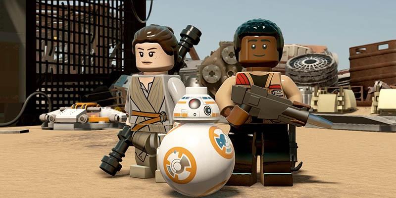 Коды на персонажей LEGO Star Wars: The Force Awakens