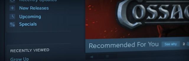 Valve упростит магазин Steam