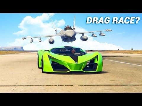 Какое в ГТА 5 самое быстрое транспортное средство