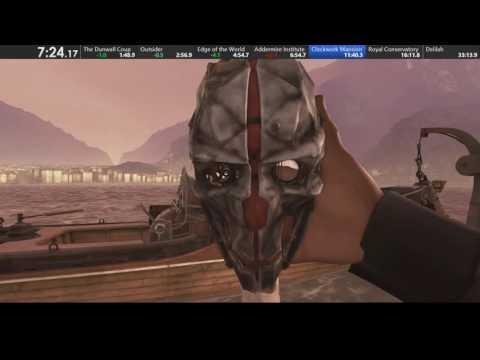 Прохождение Dishonored 2 за 38 минут