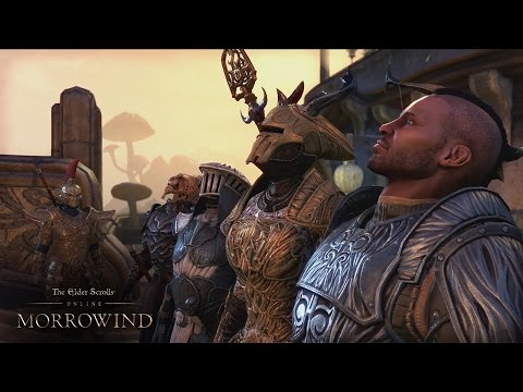 Геймплей The Elder Scrolls Online — Morrowind