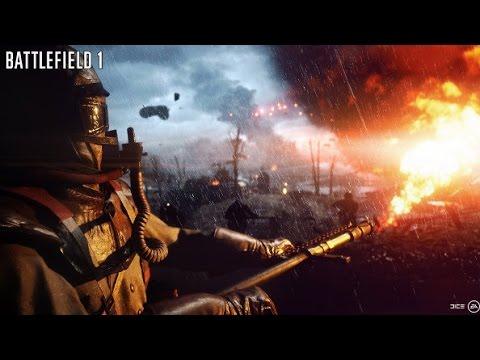 Зачистка бункера огнеметом в battlefield 1