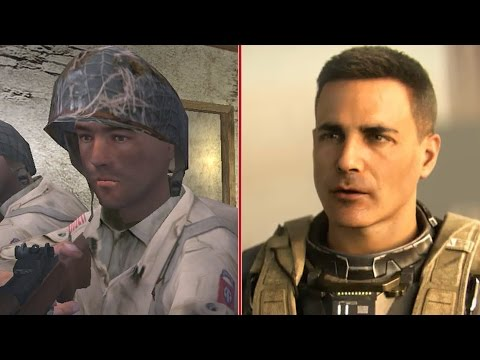 Эволюция версий Call of Duty 2003 по 2016 год