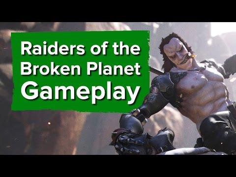 Raiders of the Broken Planet: 22 минуты геймплея
