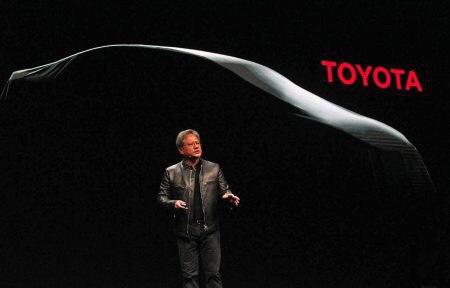 NVIDIA DRIVE PX станет основой для самоуправляемых автомобилей Toyota