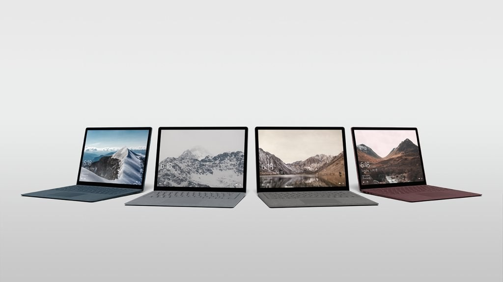 Ноутбук Surface Laptop с Windows 10 S стоимостью от $999