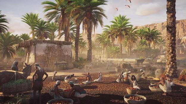 В Assassins Creed: Origins можно залезать на что хочешь