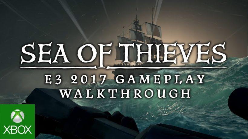 10 минут геймплея Sea of Thieves