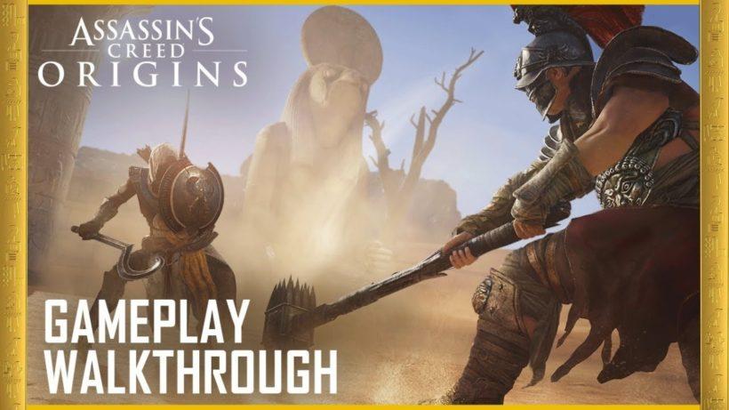 Геймплей Assassins Creed Origins