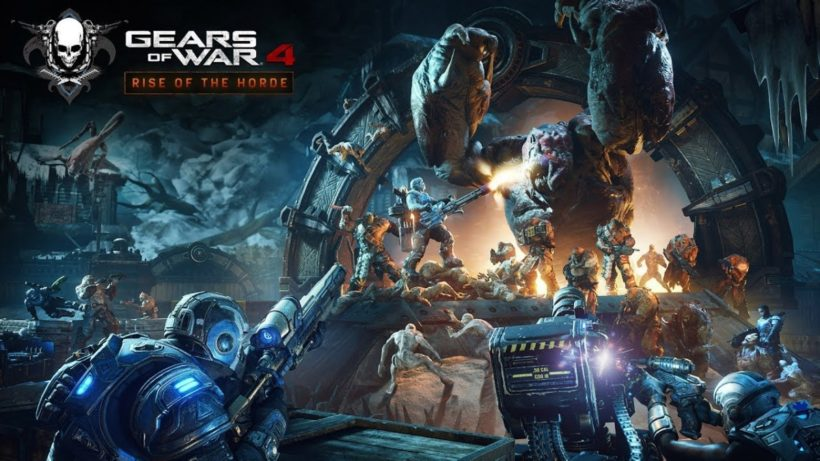 Трейлер дополнения Rise of the Horde для Gears of War 4