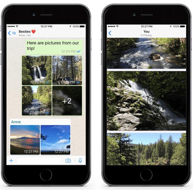 В WhatsApp для iOS появились фильтры, альбомы и быстрые ответы