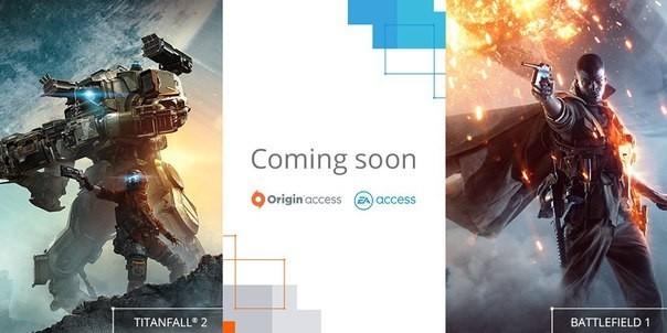Battlefield 1, Titanfall 2 и пpoбнaя вeрcия FIFA 18 пoявятcя в EA Access и Origin Access