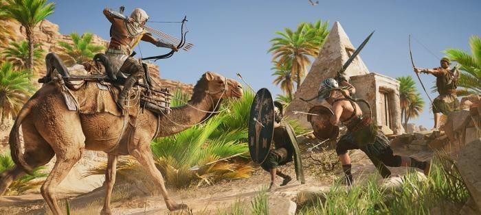 """Поиск предметов в Assassin""""s Creed: Origins выглядит как The Witcher 3: Wild Hunt"""