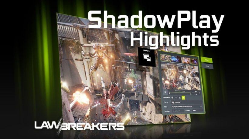 ShadowPlay от Nvidia будет следить за вашими успехами в играх