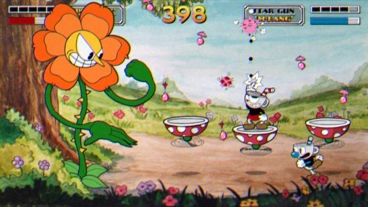 Платформер Cuphead консольный эксклюзив Xbox One.