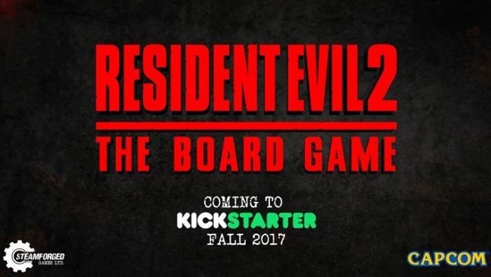 Анонсирована настольная игра Resident Evil 2