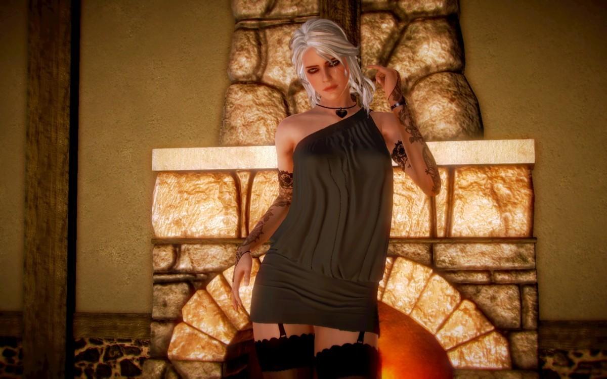 Цири из Witcher 3 получила порт в японский симулятор свиданий
