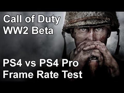 Call of Duty: WW2 использует динамическое разрешение на PS4 Pro
