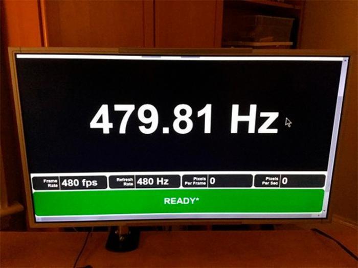 Монитор с частотой обновления 480 Гц, что дальше?