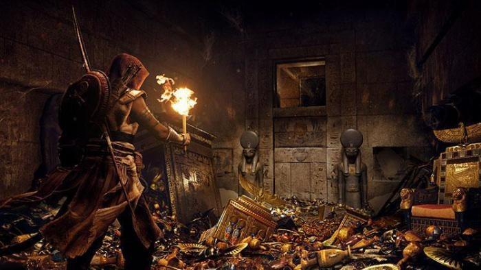 В Assassins Creed: Origins главный герой может перегреться на Солнце