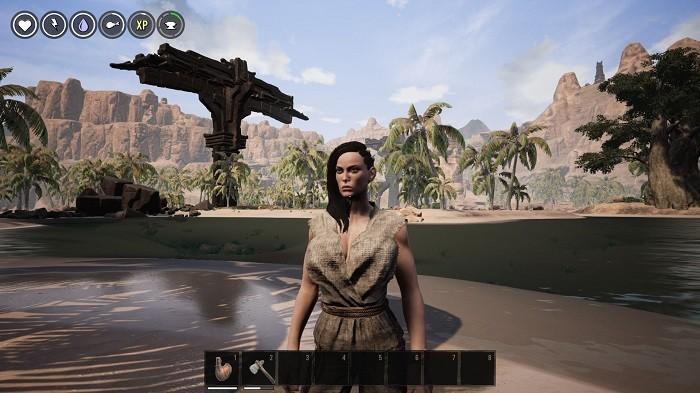 Conan Exiles на Xbox One выглядит как PC-версия со средней детализацией в 900р