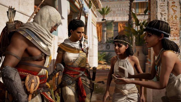 Жена Байека - Айя и другие играбельные персонажи