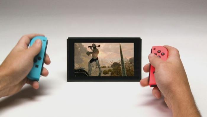 Skyrim отлично показывает себя на Switch