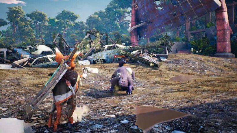 Первый геймплей Biomutant