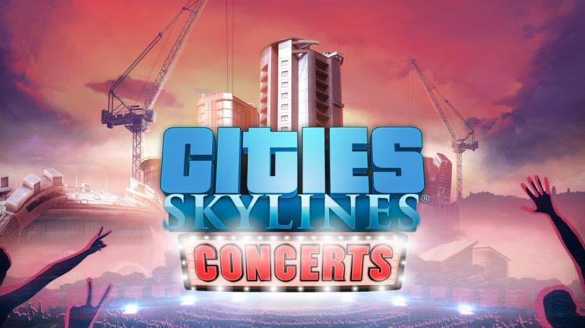 Вышло дополнение Concerts для Cities: Skylines