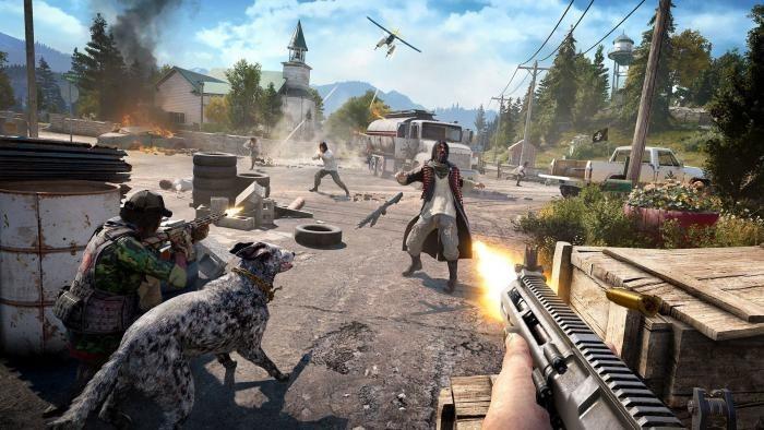 Сюжетная линия Far Cry 5 займет примерно 30 часов